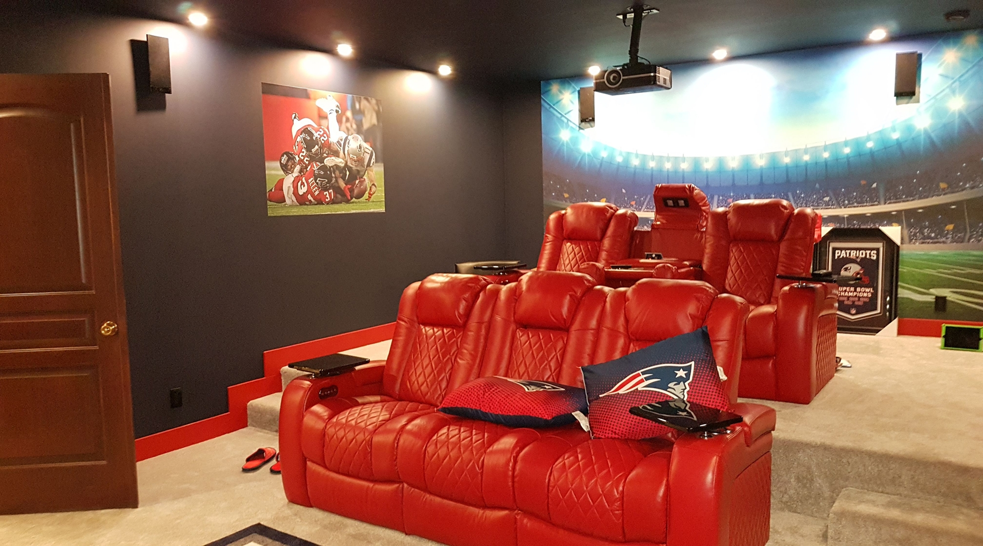 Media Rooms Built Ins,