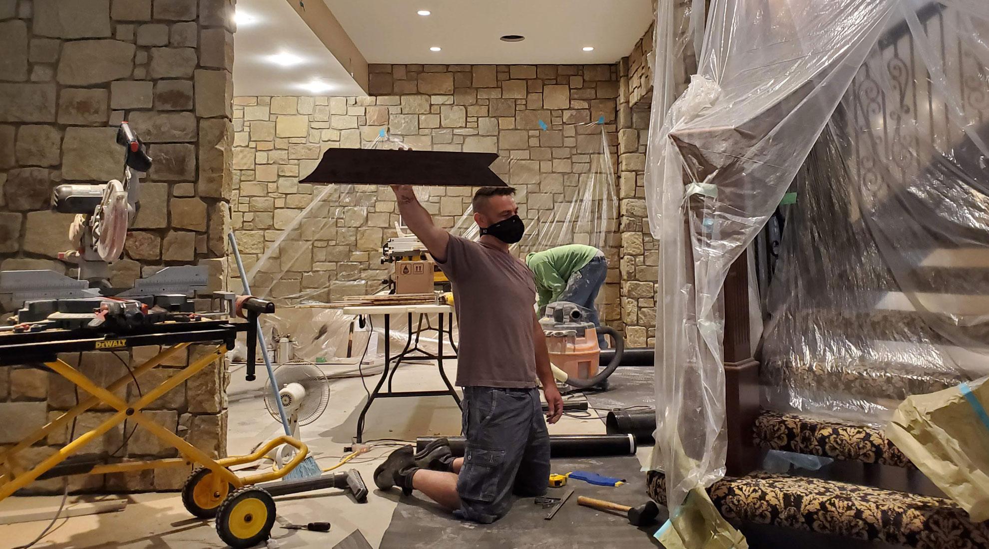 Flooring Installation Calgary LVL Engineered hardwood tile